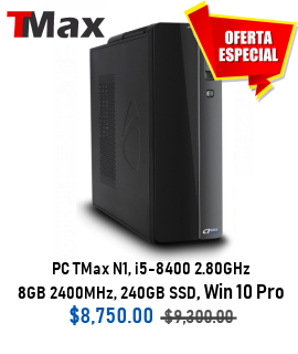 PC TMAX N1 + I5-8400 2.80GHZ + 8GB DDR4 2400MHZ + D.D. 240GB SSD